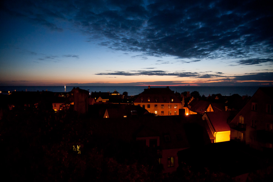 visby by night