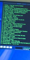 12 april 07:  playlist