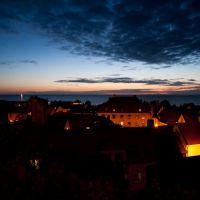 16 augusti 11:  visby by night